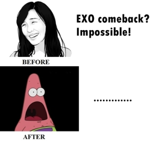 my reaction to exo